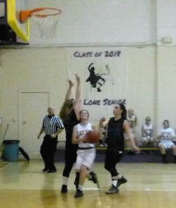 Haylee good layup