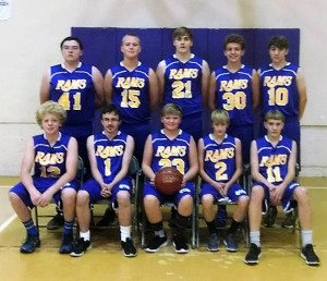 Boys Basketball team 2016-2017 copy